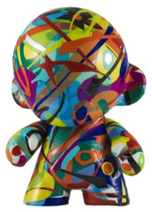 "One of the ""Munny Dolls"" created by artist Omar Medina to be auctioned this week."