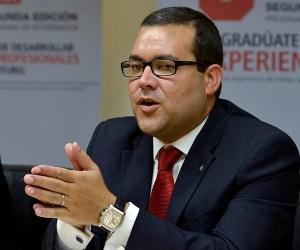 Rafael Vélez-Palmer, director of Santander Universidades. (Credit: © Mauricio Pascual)