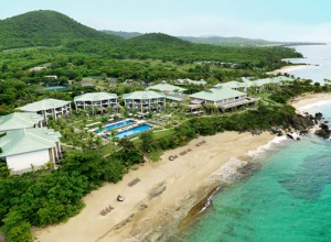 Sprawled on 30 acres of beachfront property, the 156-room W Retreat & Spa blends the brand's contemporary style with the stunning nature and wildlife of the island.