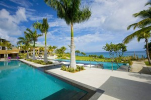 The W Vieques features 156 guest rooms and villas, two restaurants including one pool-side cafe, an 8,000 square foot spa, a 3,000 square foot bar and two sparkling pools facing the Atlantic.
