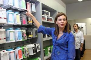 Mariemma Monroig, general manager of iShop Puerto Rico
