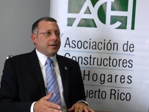 Homebuilders Association President Roberto Trápaga