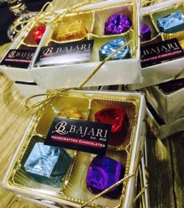 Bajari Handcrafted Chocolates is established in the west and sells in various stores throughout the metropolitan area.