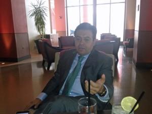 Jorge Lizán, vice president of business development of the ICSC.