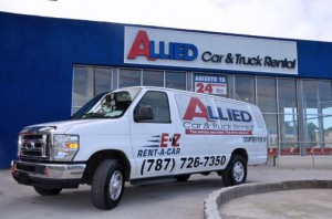 Allied Car & Truck Rental offers 'park & fly' service at its Carolina facility.