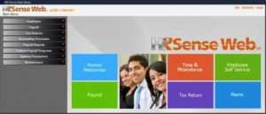 The HR-Sense web solution integrates applications to manage payroll, quarterly tax returns, time and attendance, among others.