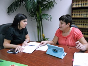 Puerto Rico Trade & Export Co. is working on boosting its rental income from commercial properties, according to Executive Assistant Director Agnes Crespo Quintana (left) and Real Estate Division Senior Manager Myra Diaz Borrero.
