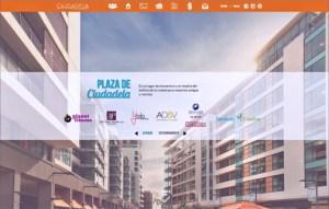 ciudadela webpage