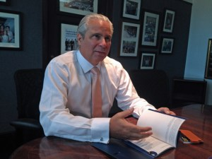 GDB Interim President Alberto Bacó.