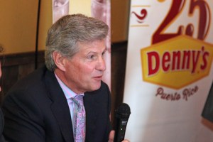 Denny's CEO John Miller