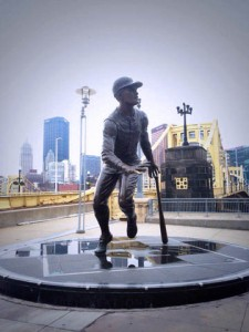 Puerto Rican baseball legend Roberto Clemente is celebrated all over Pittsburgh.
