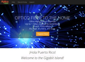 Residents can signup for the service through the Optico Fiber website at http://optico.criticalhub.com.