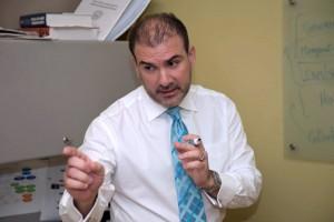 Jorge Mejía, Fusionwork's director.