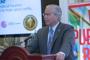 Puerto Rico Economic Development and Commerce Secretary Alberto Bacó.