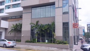 "The ""Colaboratorio"" is located on Antonsanti Street in Santurce."