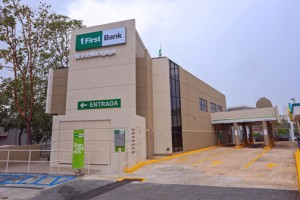 The new FirstBank is located at the former Banco Popular location in Santurce.