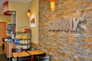 Eight local Subway restaurants got a make-over recently.