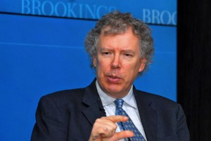 Darrell West is vice-president and director of the Brookings Institution's governance studies program. (Credit: Larry Luxner)