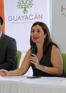Laura Cantero, GGI's executive director.