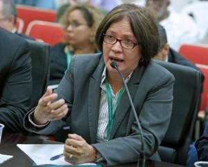 Puerto RIco Agriculture Secretary Myrna Comas