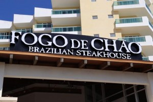 """The Fogo de Chão dining experience is based on """"churrasco,"""" a centuries-old gaucho tradition that practices the art of roasting meats over an open fire and sharing dining experiences with family and friends."""