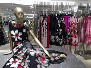 Carolina Herrera designs are part of the Saks Fifth Avenue Puerto Rico collection.