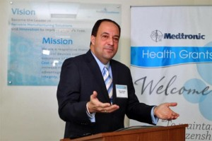Félix Negrón, vice-president of operations at Medtronic Puerto Rico.