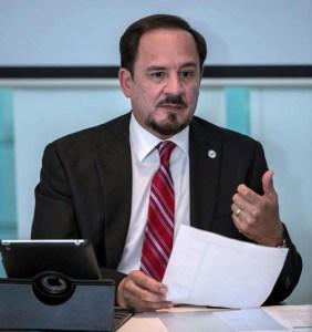 Hernán Vera-Rodriguez, dean of the Pontifical Catholic University's School of Graduate Studies in Behavioral Sciences and Community Affairs.