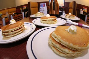 """IHOP in Puerto Rico will host their second """"National Pancake Day"""" tomorrow, upholding the chain's tradition of giving away pancakes who visit the restaurant that day, in exchange for a donation to support the San Jorge Children's Foundation."""