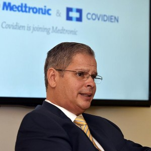 Richie González, area director for Covidien's Caribbean and Central American region. (Credit:  Mauricio Pascual)