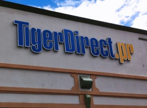 There are two TigerDirect stores in Puerto Rico, one of which will close. (Credit: © Mauricio Pascual)