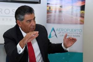 Aerostar CEO Agustín Arellano