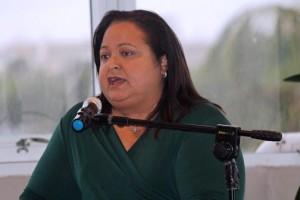 GDB President Melba Acosta.
