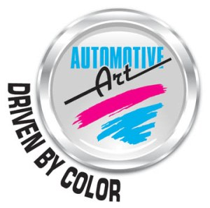 AART Driven by color logo text wrap around