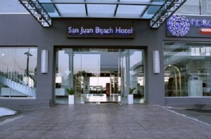 The San Juan Beach Hotel is located in the Condado sector of San Juan, overlooking the Atlantic.