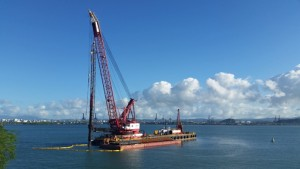 Crowley's terminal expansion also includes the installation of three new ship-to-shore container gantry cranes, which will be supplied under a separate contract, the company said.