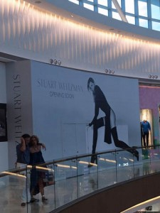 In preparation for its arrival, Stuart Weitzman last week posted job openings for an assistant store manager and sales associate.