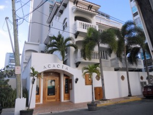 The Acacia Hotel, on Taft St., is one of five small hotels under a sole proprietorship