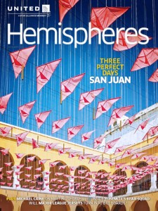 """The """"Hemispheres"""" magazine is distributed to more than 11 million readers per month, reaching a highly influential group of business and leisure travelers, the airline said."""