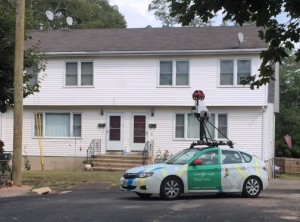 """Street View"" will only show the same roads that would be observed when driving or walking down a street."