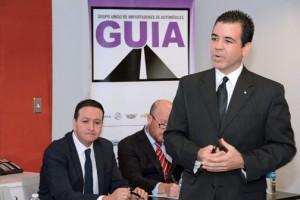 Ricardo García, president of the trade group known as GUIA.
