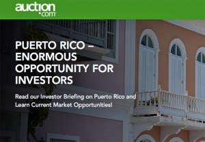 "Auction.com is advertising the upcoming property sale as ""an enormous opportunity for investors."""