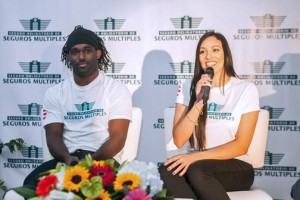 Olympic wrestler Jaime Espinal and volleyball player Vilmarie Mojica will join the company's list of spokespeople.