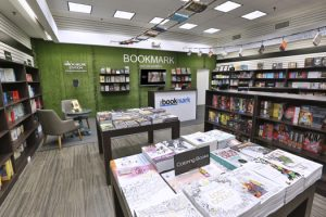 Designed as a concept store, The Bookmark Boutique has 1,000 square feet of retail space and is expected to create 20 new jobs.