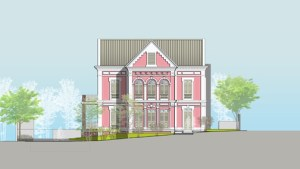 The MADMi will be located in a property built in 1913, which is emblematic of Miramar's architecture.
