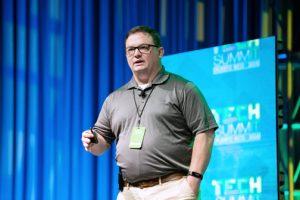 ADTRAN's Business Development Manager Greg Luhman.