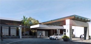 Over the next several months, the property's façade will become new, with the construction of a modern driveway and tropical landscaping.