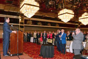Gov.-elect Ricardo Rosselló spoke before the Chamber of Commerce Tuesday.