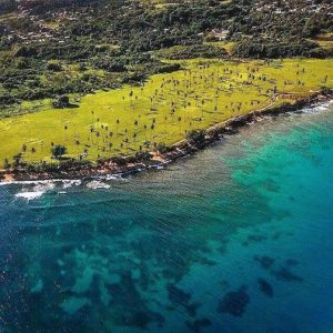 The planned Columbus Landing resort will occupy 121 acres of pristine land in the Aguadilla area. (Credit: Movimiento Playuela)
