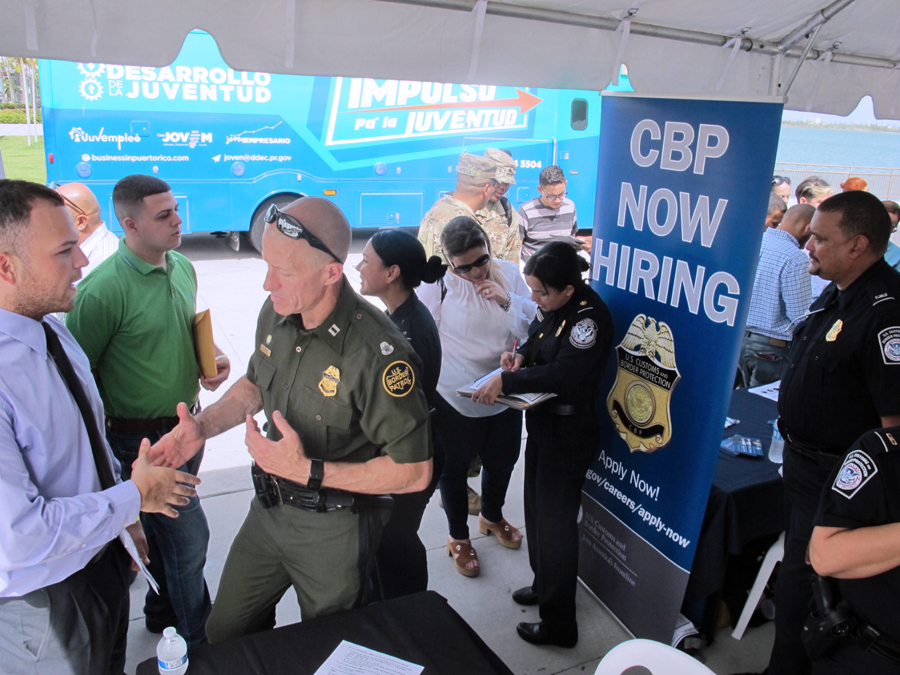 CBP agent, officer recruitment orientation returns to Plaza